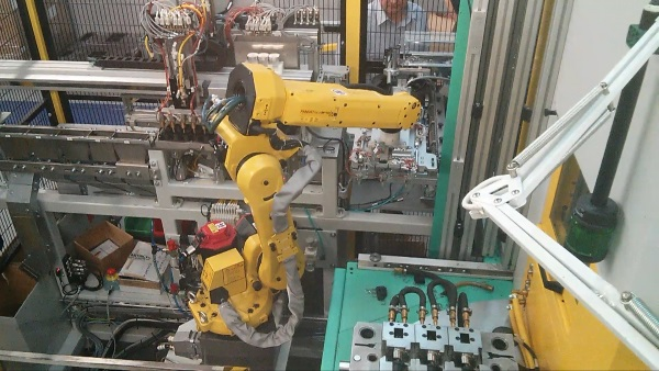 Robotic Handling and Leak Testing