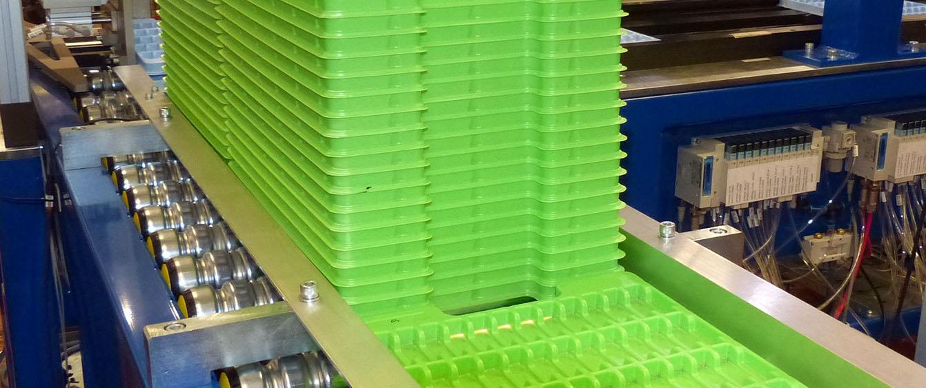 tray handling solutions