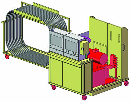 hydraulic test bench overview
