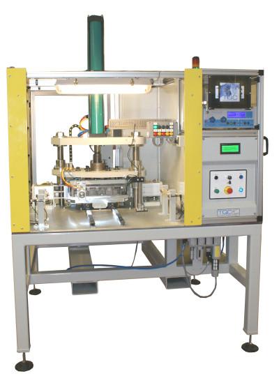 Automotive bedplate casting leak test machine