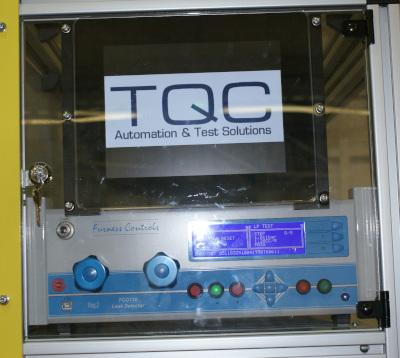 Automotive bedplate casting leak test display